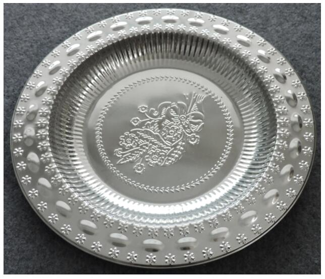 wedding round tray